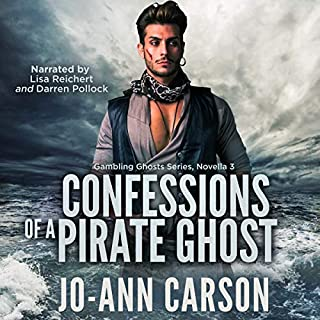 Confessions of a Pirate Ghost audiobook cover art