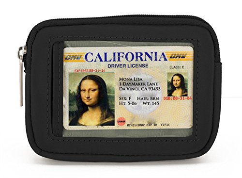DayMakers Be Safe Zipper Wallet with ID