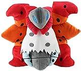 HNTOY 25cm Volcarona Plush Doll Cartoon Moth Toy Anime Game Character Ragdoll Kids Birthday Gift