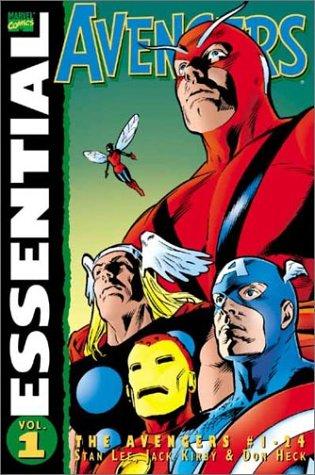 The Essential Avengers : Volume 1, Avengers # 1-24