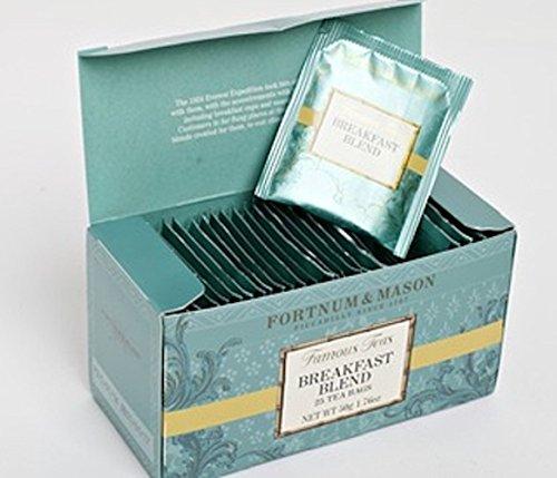 Fortnum and Mason British Tea. Breakfast Blend 25 Tea Bags (1 Pack) USA