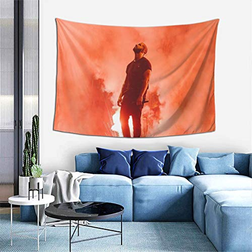 Rapper Drake Tapestry Wall Hanging Fashion Home Decoration Wall Blanket Dormitory Living Room Bedroom (60x40inch)