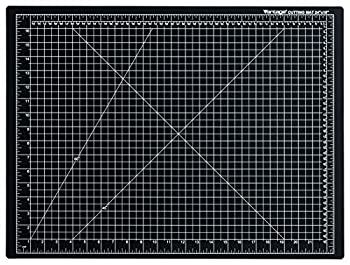 Dahle Vantage 10672 Self-Healing Cutting Mat 18 x24  1/2  Grid 5 Layers for Max Healing Perfect for Crafts & Sewing Black