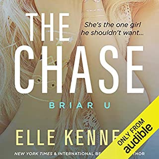 The Chase                   Written by:                                                                                                                                 Elle Kennedy                               Narrated by:                                                                                                                                 Jacob Morgan,                                                                                        CJ Bloom                      Length: 10 hrs and 27 mins     6 ratings     Overall 5.0