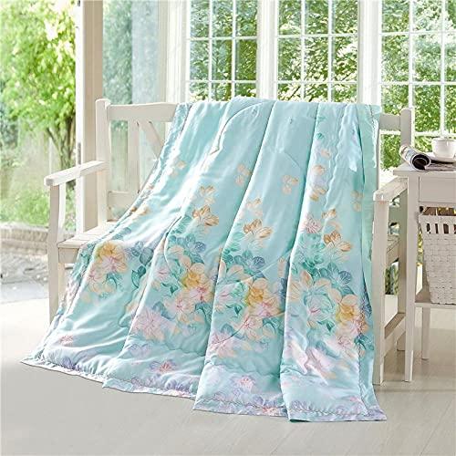 haoyunlai Edredón de Verano edredón para la Piel acondicionador de Aire Acondicionado sofá Cama lanzar una Manta Regalo de cumpleaños-Superior_200 * 230cm