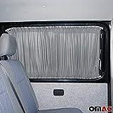 Protección Solar cortina métrica cortinas cortinas Vito W447a partir de 2014Van Gris corta