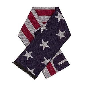 Trump Scarfs 2020 Presidential Election Scarves Fall Winter Gear MAGA KAG American Flag USA Design
