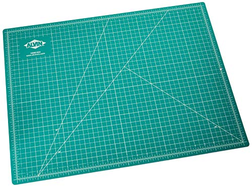 Alvin GBM1824 GBM Series 18 inches x 24 inches Green/Black Professional Self-Healing Cutting Mat