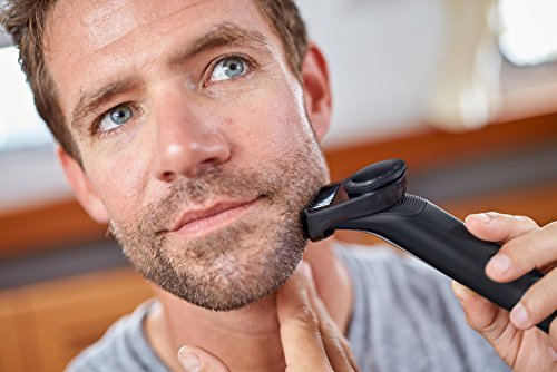 Philips OneBlade Pro Hybrid Trimmer & Shaver with 12-Length Comb (UK 2-Pin Bathroom Plug) - Frustration-Free-Packaging - QP6510/30