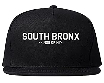 Kings Of NY South Bronx BX New York Snapback Hat Black