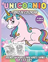 Unicornio Libro De Colorear Para Niños: Maravillosos diseños del Unicornio Para Niñas Y Niños