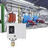 Interruptor de control de presión de la bomba de agua Controlador de presión electrónico para compresor de agua y aire, bomba centrífuga, bomba sumergible, monitor de flujo del controlador automático