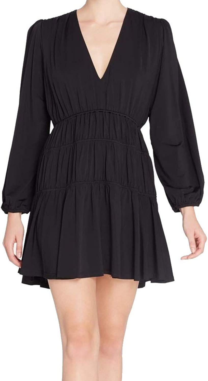 Catherine Malandrino Womens Mini ALine Party Dress