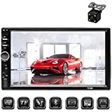 Aigoss Car Stereo Bluetooth MP5 Video Digital Player 7' Touch Screen 2 Din Car...