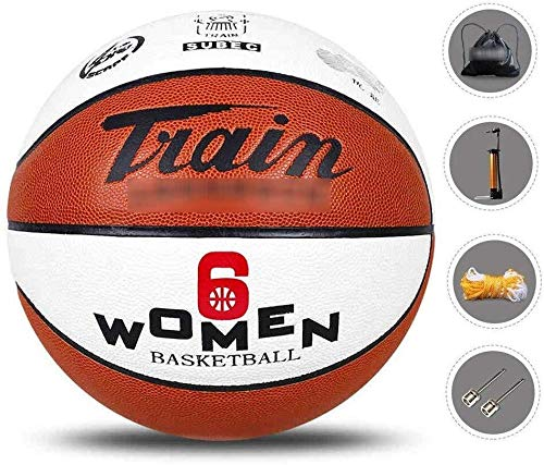 Best Review Of ZHOU.D.1 Basketball- Women's Standard Basketball Indoor and Outdoor Number 6 Basketba...