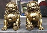 Liangliang988 China regius - Estatua de León de Guardián del...