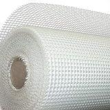 Malla de Fibra de Vidrio para morteros en trabajos de Impermeabilización y Rehabilitación - Rollo 1m x 50m