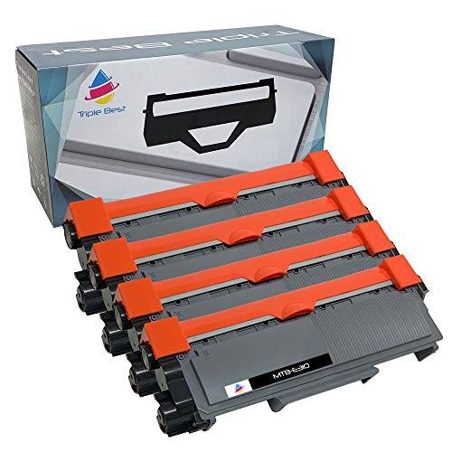 Triple Best Compatible Toner Cartridge Replacement for Dell 593-BBKD PVTHG E310dw E514dw E515dw E515dn (4 Pack)