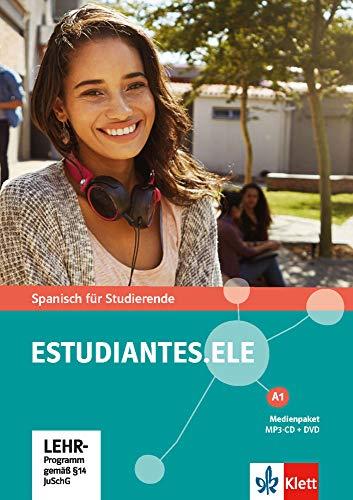 Estudiantes.ELE A1: Spanisch für Studierende. Medienpaket (MP3-CD + DVD) (Estudiantes.ELE / Spanisch für Studierende)