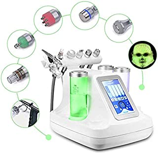 7 in One Facial Cleansing Vacuo Hydro Dermabrasion Hydro Water Oxygen Jet Peel Machine for Vacuum Cleaner Pore Care Oxygen Mask