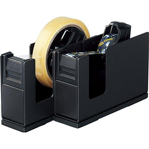 コクヨ テープカッター カルカット 2連タイプ 黒 T-SM110D