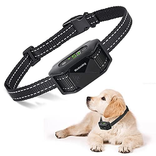 Collar Antiladridos Perros con Sonido y Vibración, Recargable y Impermeable Automático Collar para Perros Pequeños, Medianos y Grandes