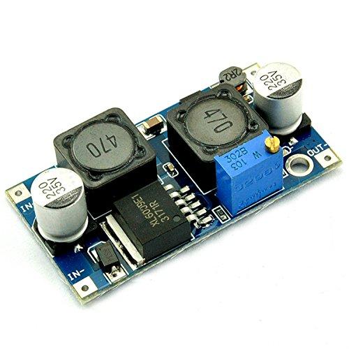 Bluelover DC-DC Boost Buck Ajustable Escalón Paso Abajo Convertidor Automático Xl6009 Módulo Adecuado para El Panel Solar
