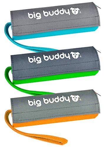 big buddy ORIGINAL Futterdummy Trainingsdummy Hunde Leckerliebeutel Futterbeutel Apportiertasche Dummy (Dreierpack, Bunt)