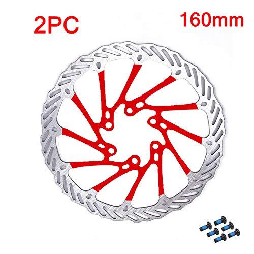 HYSJLS Accesorio de Ciclismo G3 MTB Discos de Bicicleta Rotor de Freno de Acero Inoxidable Disco de Bicicleta 160 mm / 180 mm / 203mm Frenos de Bicicleta de montaña Accesorios de Ciclismo