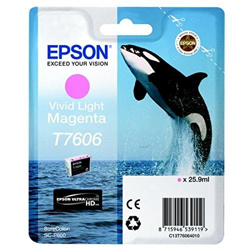T76064010 Epson SureColor P600 Cartucho de Tinta magenta claro vívido