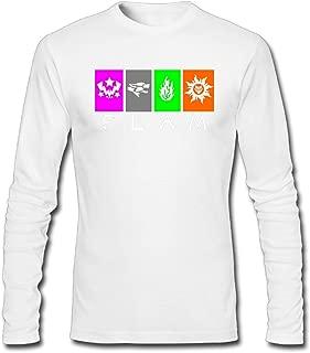 Hefeihe DIY RWBY FLAM Team Logo Men's Long-Sleeve Fashion Casual Cotton T-Shirt
