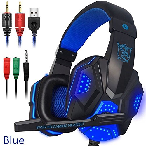 Gaming Headphones,Headphones for Mobile Phone,PC,Laptops,Macs,Tablets,Plug and Play