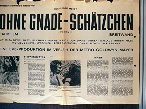 Ohne Gnade - Schätzchen - Werberatschlag (B7)