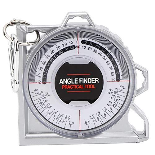 Socobeta Localizador de ángulo magnético Carpintería Multifuncional Transportador Pitch & Slope Localizador Inclinómetro para medición de pendiente