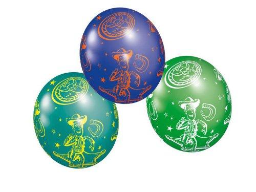 Riethmüller - 450259 - Décoration de Fête - 5 Ballons Latex Toy Story