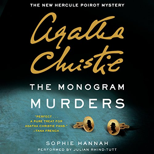 The Monogram Murders audiobook cover art