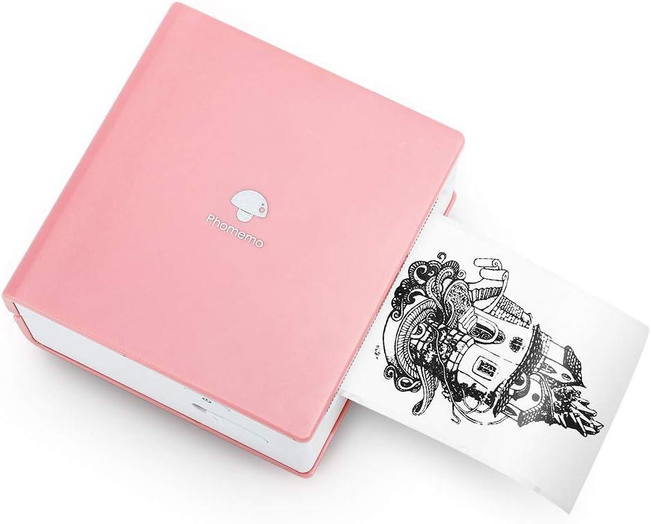 Phomemo M02 Portable Pocket Printer- Mini Bluetooth Wireless Thermal Sticker Printer