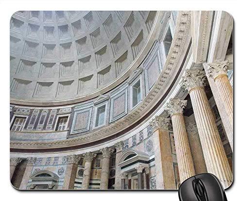 Mousepad Pantheon Italien Rom Architektur Römisches Denkmal 25X30Cm Bürogeschenk Langlebiges Mauspad Desktops Gummimaus Matte Weihnachten Tastaturspiel Schlafsaal Computer Student
