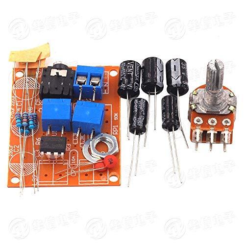HDHUA Änderungszubehör TDA2822 Verstärkerplatine Dual-Kanal-Verstärker-Kit DIY Produktion Suite Von Elektronischen Lehr Training Kit DIY