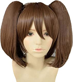Diane Serpent Cosplay Wig Envy Brown Hair The Seven Deadly Sins Anime Halloween Accessories Props Long Ponytail 50cm