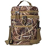 ExtremePak Maxam JX Swamper Cooler Bag with Zip-Out Water Proof Liner, for Day Trips, Lunch, Picnics and More, Camouflage