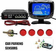 $28 » 4 LED Car Parking Radar Sensor Buzzer Alarm Backup Reverse System Kit universal NEW Car Parking Rear Reverse 4 Sensors Kit...