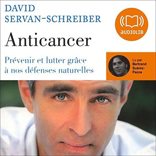 Anticancer audiobook cover art