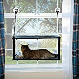 K&H Pet Products EZ Mount Window Kitty Sill Double Stack Gray 12...