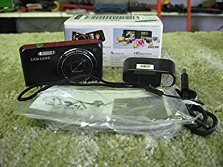 "Samsung DV50 Dualview 16 MP 5X Opt Zoom Digital Camera Black 2.7"" LCD Screen"