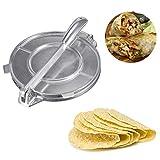 Yifan 20cm Pieghevole Tortilla Maker Pressa per Pasta di Alluminio Strumento da Ristorante per Uso...