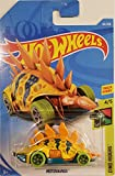 Hot Wheels 2019 Dino Riders Motosaurus (Dinosaur Car) 63/250, Yellow and Orange