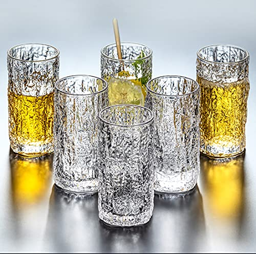 YZG Tree Pattern Highball Glasses Drinking Tumbler set of 6 - Old Fashioned...