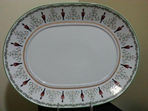 "Bernardaud Grenadiers Oval Platter 15"""