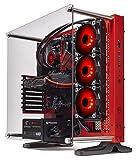 Thermaltake LCGS Wraith AIO Liquid Cooled CPU Gaming PC (AMD Ryzen 5 3600X 3.8GHz, DDR4 3200MHz 16GB RGB Memory, GeForce RTX 2060 Super 8GB, Gen4 M.2 1TB, Win 10 Pro) P3RD-X570-AP3-LCS
